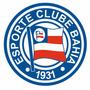 Adesivo Bahia Esporte Clube 7cm X 7cm - Frete Grátis