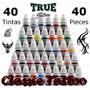 Tintas Para Tatuagem Kit 40 Tintas - Tattoo Biqueira