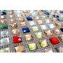 Manta Pedras Chaton Coloridas E Strass Termocolante 5,8x39cm
