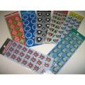 Times De Futelol Adesivo Stickers C/ 12 Cartelas