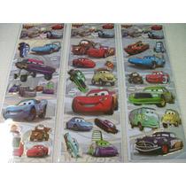 Carros O Filme Kit Adesivo Stickers C/ 12 Cartelas