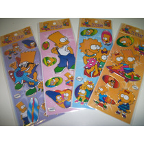 Simpsons Adesivo Stickers C/ 12 Cartelas
