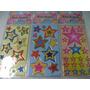Estrelas Z Kit Cartela Adesivo Stickers C/ 12 Cartelas