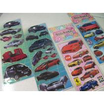 Carros Esport Z Kit Cartela Adesivo Stickers C/ 12 Cartelas