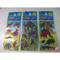 Dinossauros Kit Cartela Adesivo Stickers C/ 12 Cartelas