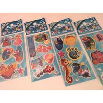 Nemo - Kit Com 12 Cartelas De Adesivos Stickers
