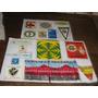 Lote Com 35 Plásticos Antigos Décadas 60/80 Escuderia,clubes
