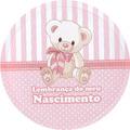 50 Etiquetas Adesivas Redondas Para Latinhas Lembranças 5x5