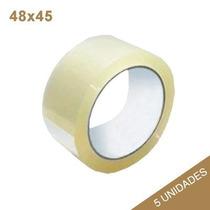 Fita Adesiva Cor Transparente - 48x45m