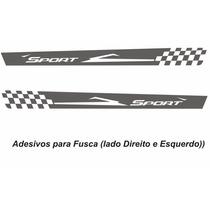 Adesivos Sport Vw Fusca Antigo Kit Faixas Laterais Tuning