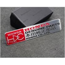 Emblema Honda Parts Si Civic City Accord Cr-v Fit Cbr Rr!!!!