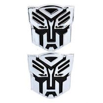 Adesivo Tuning Mini Pvc Transformers Autobot Emblema