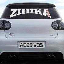 Adesivo De Parabrisa Personalizado Tuning Carro / Motos Etc