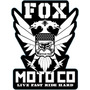 Adesivo Fox Moto Cross Moto Co Live Recorte A Laser