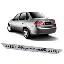 Adesivo Protetor Soleira Tri01 Porta Carro Chevrolet Classic