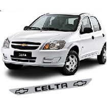Adesivo Protetor Soleira Def01 Porta Carro Chevrolet Celta