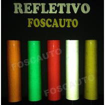 Adesivo Decorativo Refletivo 1,00m X 30cm Igual Olho De Gato
