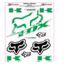 Adesivo Refletivo Moto Capacete Carro Kawasaki Fox Fretefree