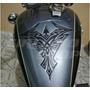 Protetor Tanque Tankpad Moto Custom Tribal M1 + Frete Grátis
