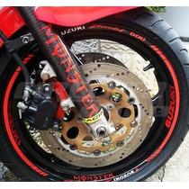 Friso Adesivo Refletivo Roda Moto F01 Suzuki Bandit Monster