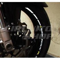 Friso Adesivo Refletivo Roda Moto R04 Suzuki Srad Gsx R 750