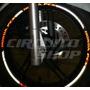 Friso Adesivo Refletivo Rec1 Roda Moto Scooter Honda Pcx 150