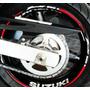 Friso Adesivo Refletivo Roda Moto F02 Suzuki Bandit Todas