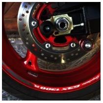 Friso Adesivo Refletivo Roda Moto R01 Suzuki Hayabusa 1300 R