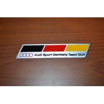 Emblema Badge Em Metal - Audi Mortorsports