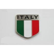 Emblema Bandeira Itália - Fiat 500 Uno Palio Linea Punto!!!