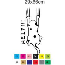 Adesivo Decorativo Gato Gatinho Geladeira E Freezer