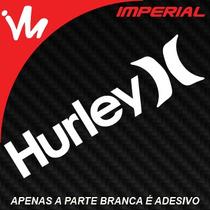 Adesivo Hurley Surf Skate Carro Rebaixado Dub Turbo Jdm Euro