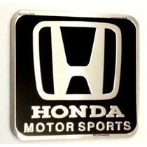 Emblema Honda Motorspors - Civic Crv Fit City Si Lxr Accord!