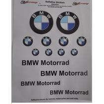 Adesivo Refletivo Moto Capacete Carro Bmw Motorrad 2 Envfree