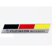 Emblema Badge Em Metal - Volkswagen Motorsport