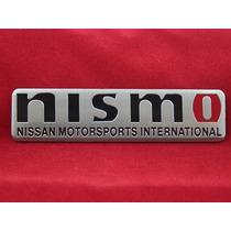 Emblema Badge Em Metal - Nismo Nissan Mortorsports