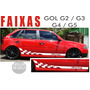 Faixa Lateral Volkswagen Gol G2 / G3 / G4 Adesivo Racing