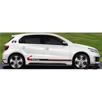 Faixas Laterais Volkswagen Gol G5 Racing Adesivo Carro