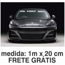 Adesivo De Parabrisa Personalizado Tuning Carro Frete Grátis