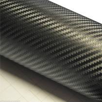 Adesivo Fibra De Carbono 3d Envelopamento 15 Cm Por 50