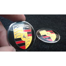 Emblema Badge Em Metal Porsche Alta Qualidade!