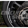 Adesivo Refletivo Interno De Roda Moto Suzuki Hayabusa 1300