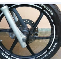 Friso Adesivo Refletivo Rec01 Roda Moto Honda Biz 125 100