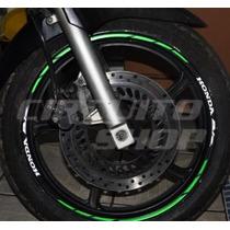 Friso Adesivo Refletivo Rec08 Roda Moto Honda Biz 125 100
