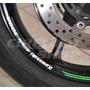 Friso Adesivo Refletivo Roda Moto Rec05 Kawasaki Ninja 300 R