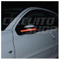 Adesivo Faixa Refletiva Tuning Retrovisor Carro Frete Grátis