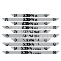 Protetor Soleira M01 Porta Carro Fiat Siena + Frete Grátis