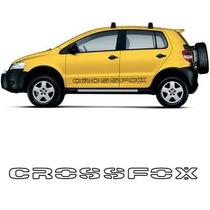 Adesivo Faixa Letter Carro Volkswagen Crossfox Lateral Vw