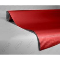 Adesivo Fibra Carbono Envelopamento Plotagem 20 Metros X 1
