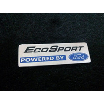 Emblema Badge Em Metal Powered Ford Ecosport !!!